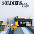 Soldiers Wife Decal
