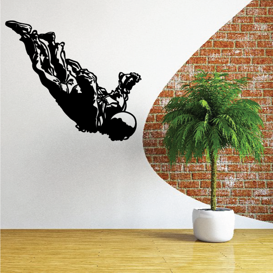Skydiving Diving Decal