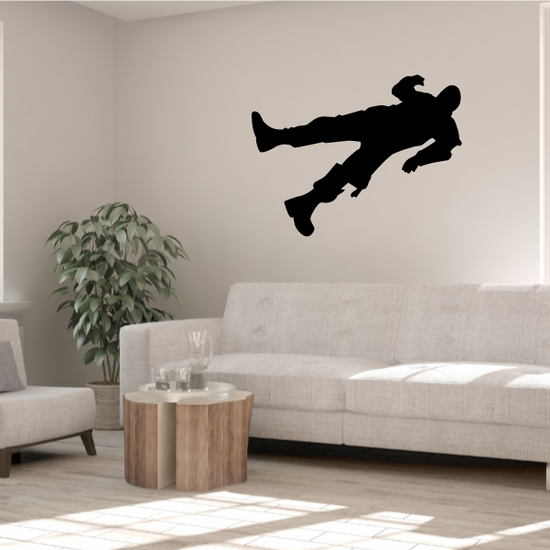 Wounded Soldier Decal
