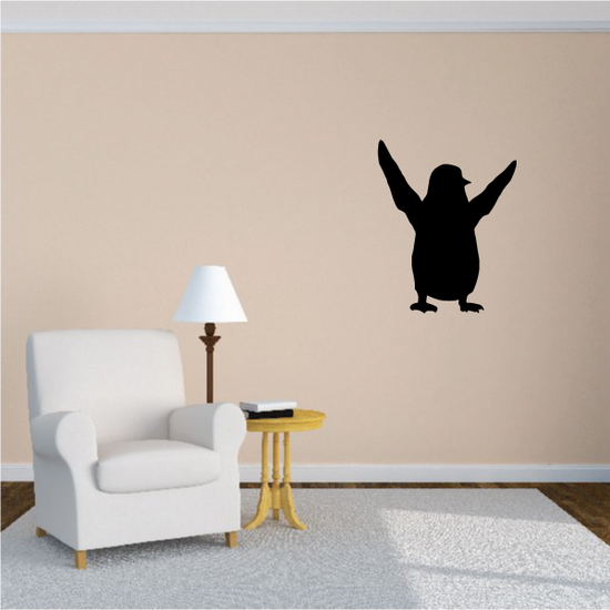 Greeting Penguin Decal