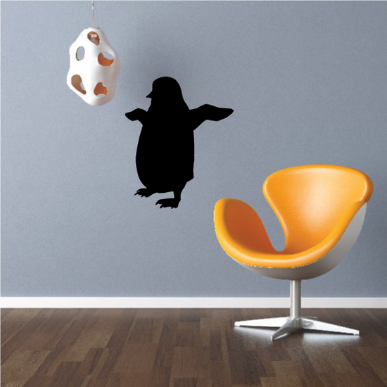 Penguin Flapping Decal