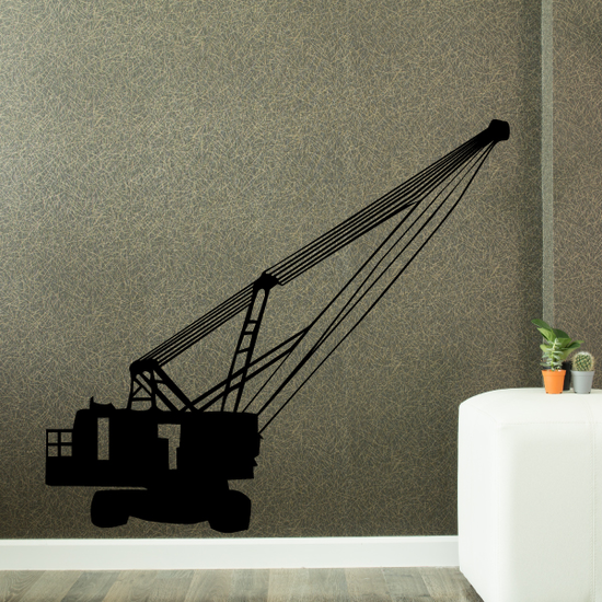Heavy Mobile Crane Decal