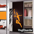 Soaring Woman in Lingerie Decal