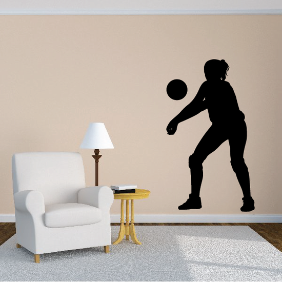 Volleyball Hitter Decal