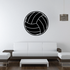 Solid Volleyball Decal