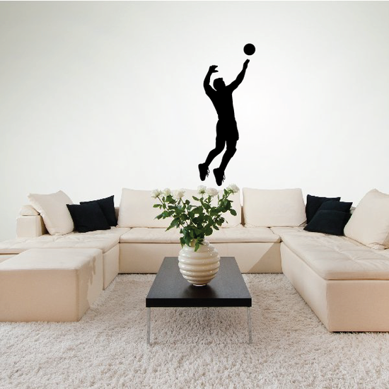 Volleyball Spike Decal