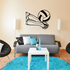 Volleyball Wall Decal - Vinyl Decal - Car Decal - Bl010