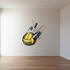 Bullet Volleyball Wall Decal - Vinyl Car Sticker - Uscolor003