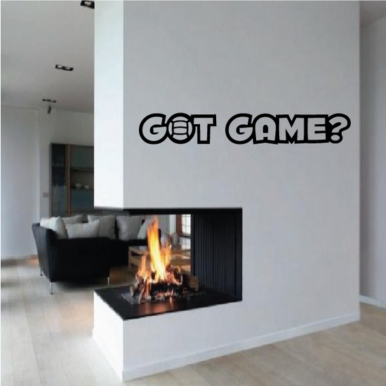 Got Game? Volleyball Wall Decal - Vinyl Decal - Car Decal - Vd006