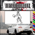 Volleyball Wall Decal - Vinyl Decal - Car Decal - SM005