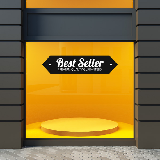 Best Seller Premium Quality Guaranteed Business Badge Wall Decal - Vinyl Decal - Car Decal - Id001