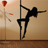 Pole Dancer Reaching Out Decal
