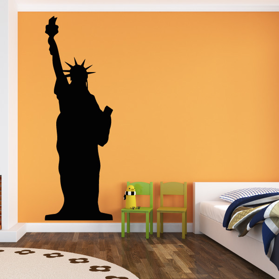 Statue of Liberty Silhouette Decal