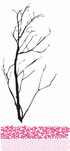 Cherry Blossom Tree Branch Decal