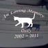 Any Image Custom In Loving Memory Decal