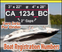 Customized Boat Registration Numbers (Hull Identification Number) Vinyl Decal Graphics Kit