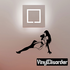 Reclining Woman in Lingerie Decal
