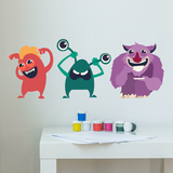 Cute Monster Stickers