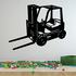 Detailed Forklift Decal