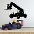 Parked Telescopic Forklift Decal