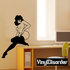 Sultry Nude Woman in Thigh Highs Decal