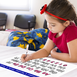 Dry Erase Learn-To-Write Sticker 01