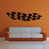 Racing Vehicle Pinstripe Vinyl Decal - Car Decal - Wall Decal - MC023