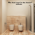 The Best Seat in the House Wall Decal
