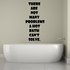 There are Not Many Problems A Hot Bath Cannot Solve Wall Decal