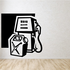 Gas Pump Gas Can Wall Decal - Vinyl Decal - Car Decal - MC28