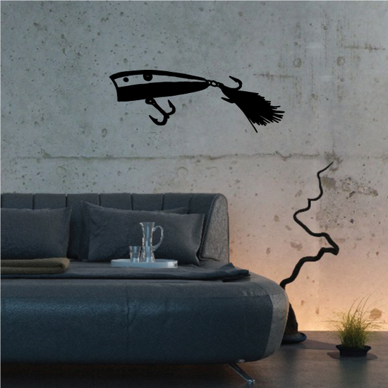 Fishing Lures Wall Decal - Vinyl Decal - Car Decal - 041