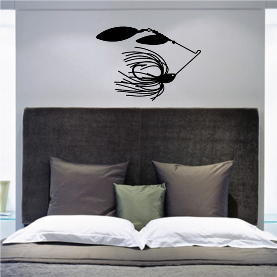 Fishing Lure Wall Decal - Vinyl Decal - Car Decal - NS048