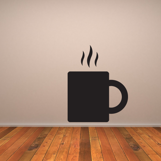 Blazing Coffee Mug Decal