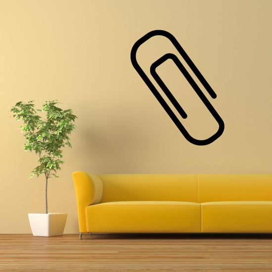 Paper Clip Decal