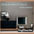 Cherish the moments for they too become memories Wall Decal