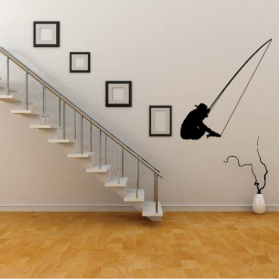 Fishing Lures Wall Decal - Vinyl Decal - Car Decal - 019