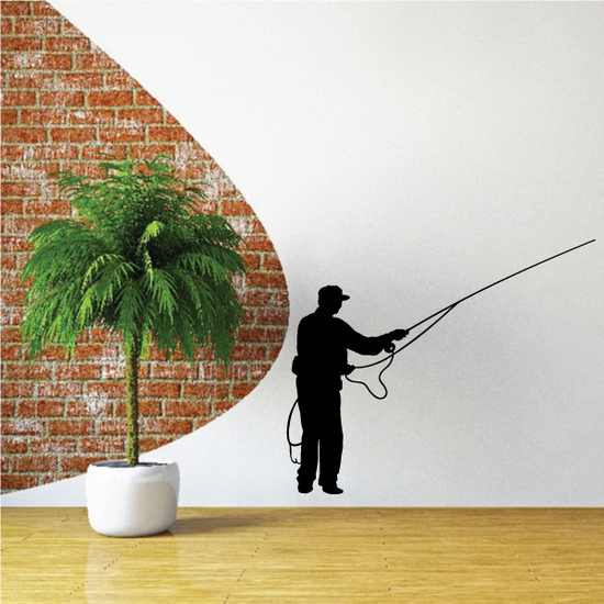Fishing Lures Wall Decal - Vinyl Decal - Car Decal - 046