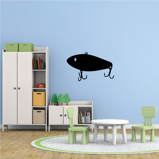 Fishing Lure Wall Decal - Vinyl Decal - Car Decal - NS002