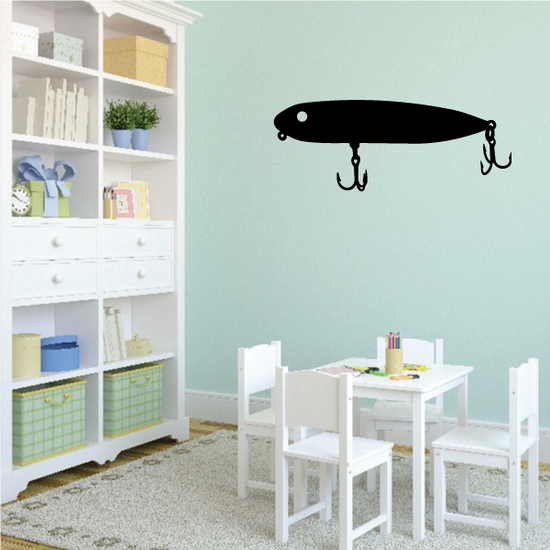 Fishing Lure Wall Decal - Vinyl Decal - Car Decal - NS005