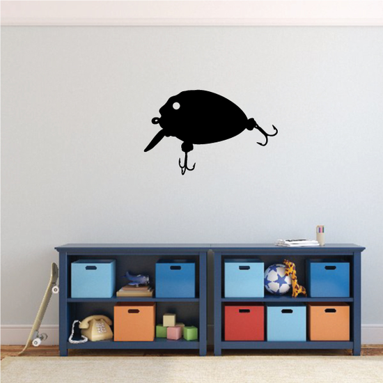 Fishing Lure Wall Decal - Vinyl Decal - Car Decal - NS013