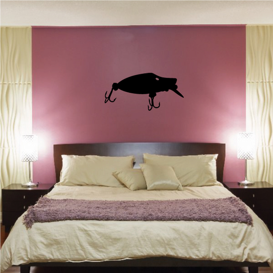 Fishing Lure Wall Decal - Vinyl Decal - Car Decal - NS015