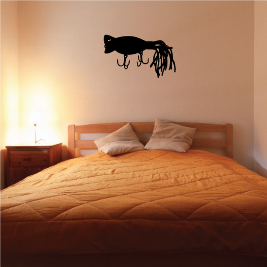 Fishing Lure Wall Decal - Vinyl Decal - Car Decal - NS027