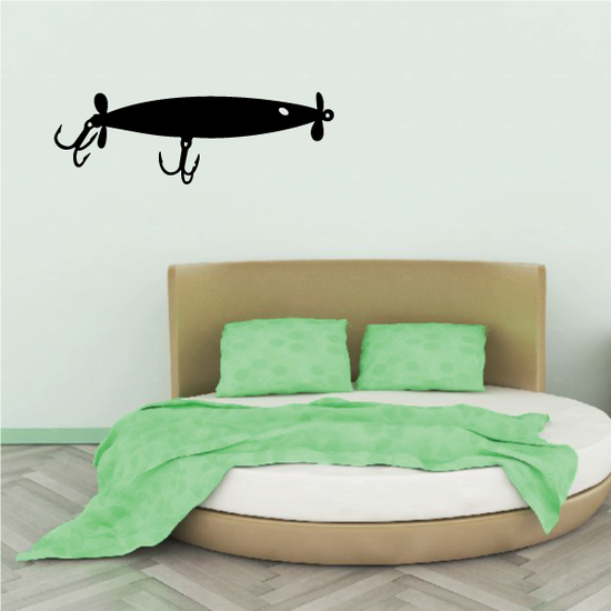 Fishing Lure Wall Decal - Vinyl Decal - Car Decal - NS031