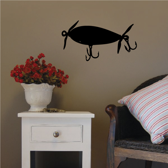 Fishing Lure Wall Decal - Vinyl Decal - Car Decal - NS034