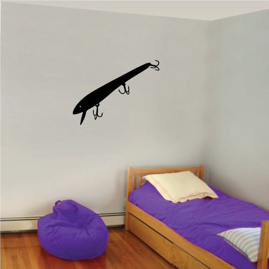 Fishing Lure Wall Decal - Vinyl Decal - Car Decal - NS036