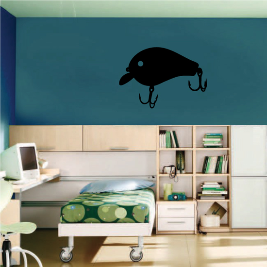 Fishing Lure Wall Decal - Vinyl Decal - Car Decal - NS045