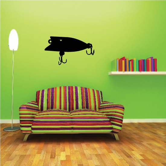 Fishing Lure Wall Decal - Vinyl Decal - Car Decal - NS054