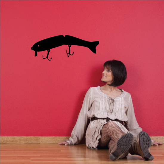 Fishing Lure Wall Decal - Vinyl Decal - Car Decal - NS056