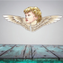 Angel and Wings Sticker