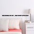 Our bundle of joy Our sweet little boy Wall Decal